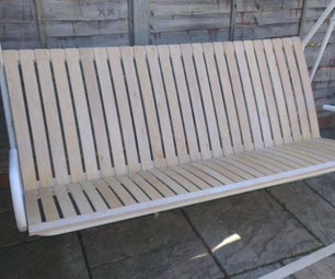 How to Renovate a Garden Seat With IKEA Bed Slats