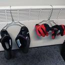 Coat Hanger Hack : gears dryer