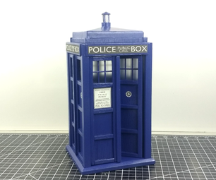 Make a TARDIS Model - 1/10th Scale