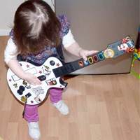 Toddler Guitar Hero Controller