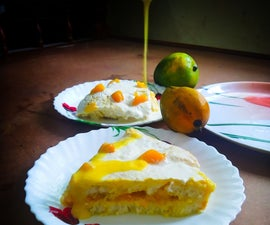 Chilled Mango Milk Pudding