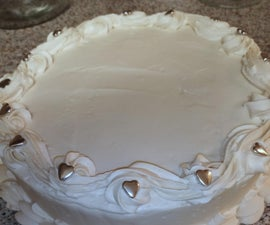 Red Velvet Cheesecake With Whipped Cream Cheese Frosting