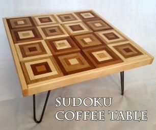 Sudoku Coffee Table
