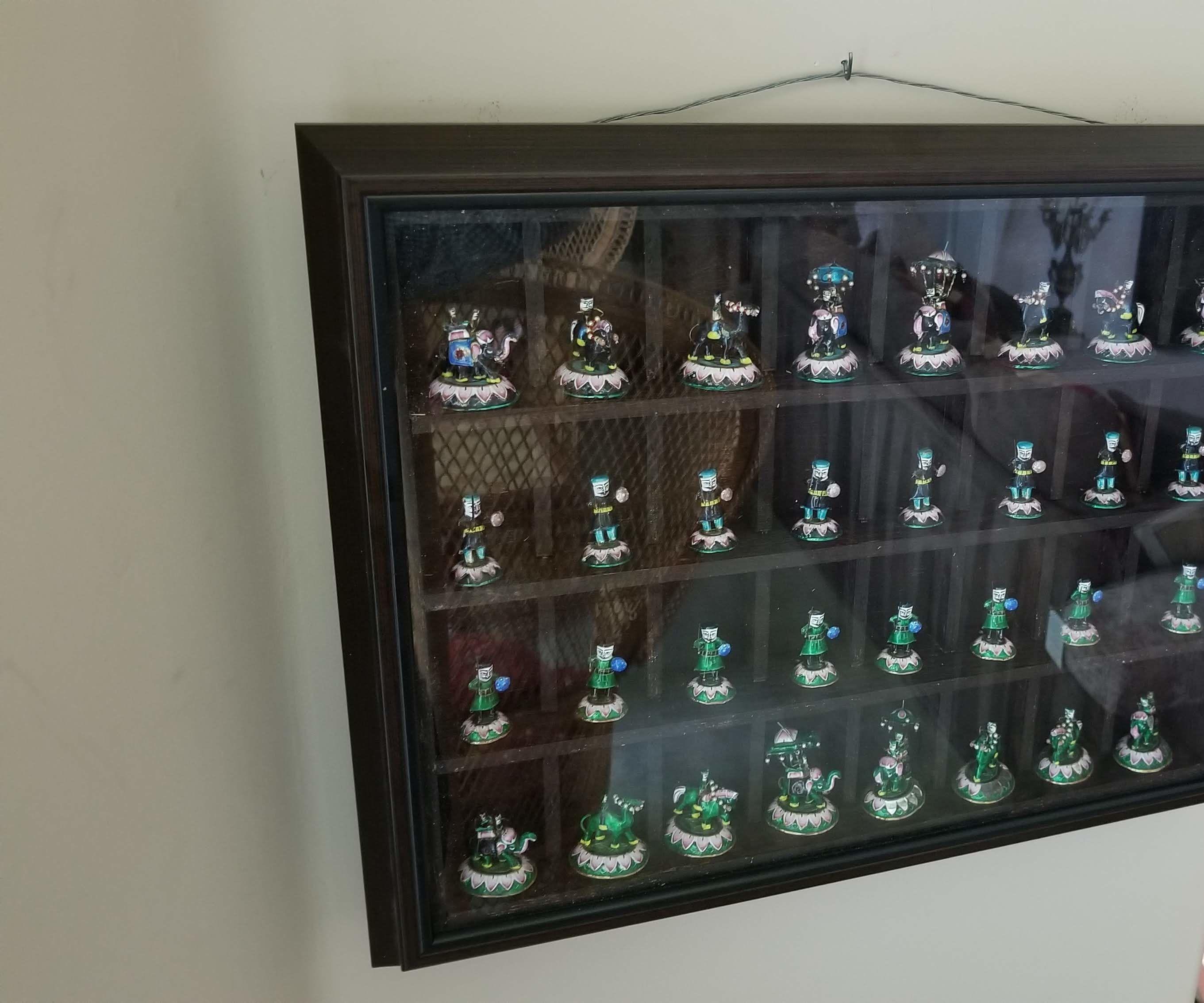 Chess Piece Display Frame