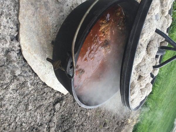 Dutch Oven, Hearty Cilantro Chicken Soup
