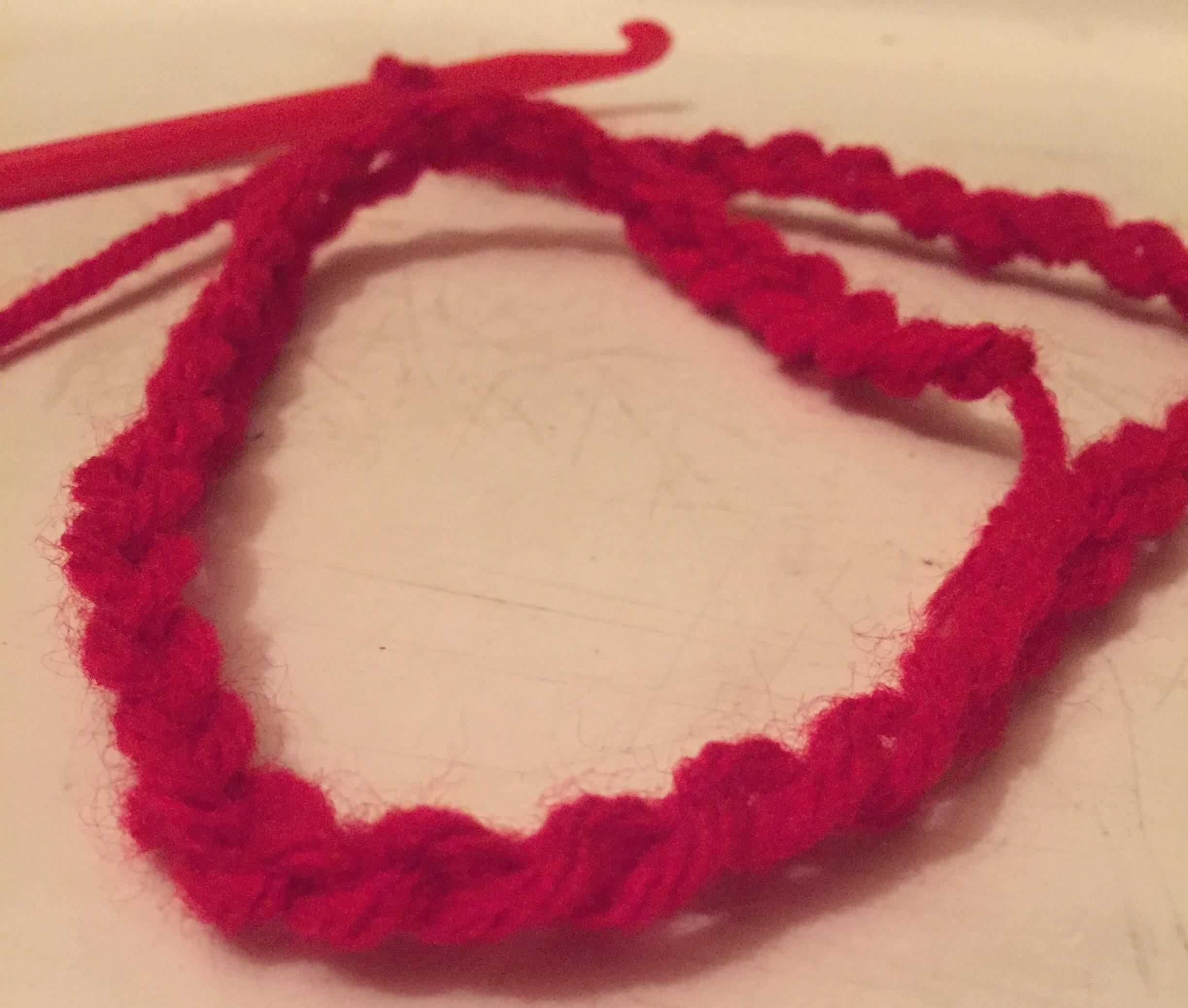 Rose Hair Crochet Accessory