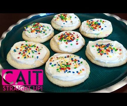 Birthday Cake Funfetti Cookies