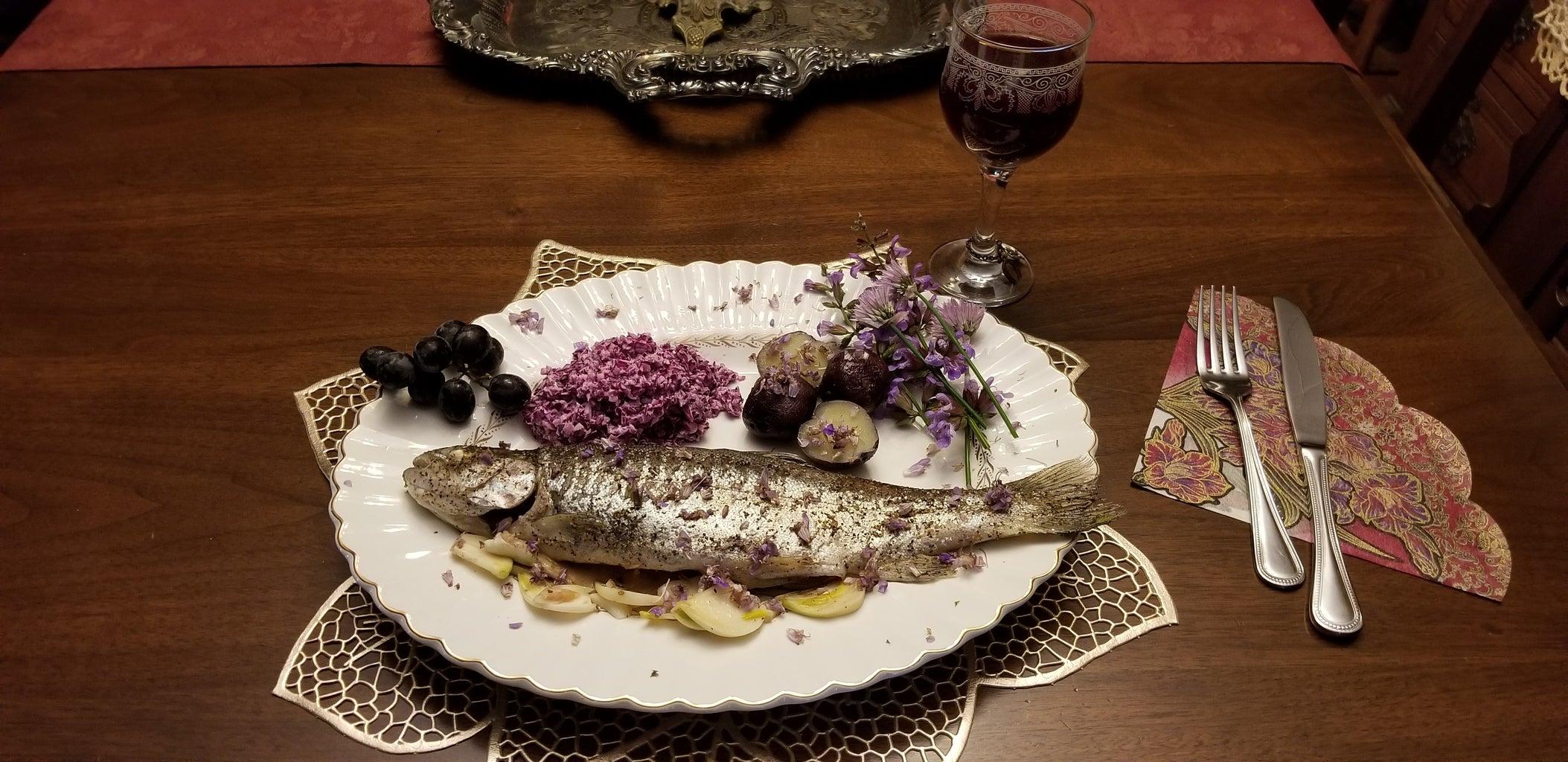Rainbow Trout / a Celebration of Violet