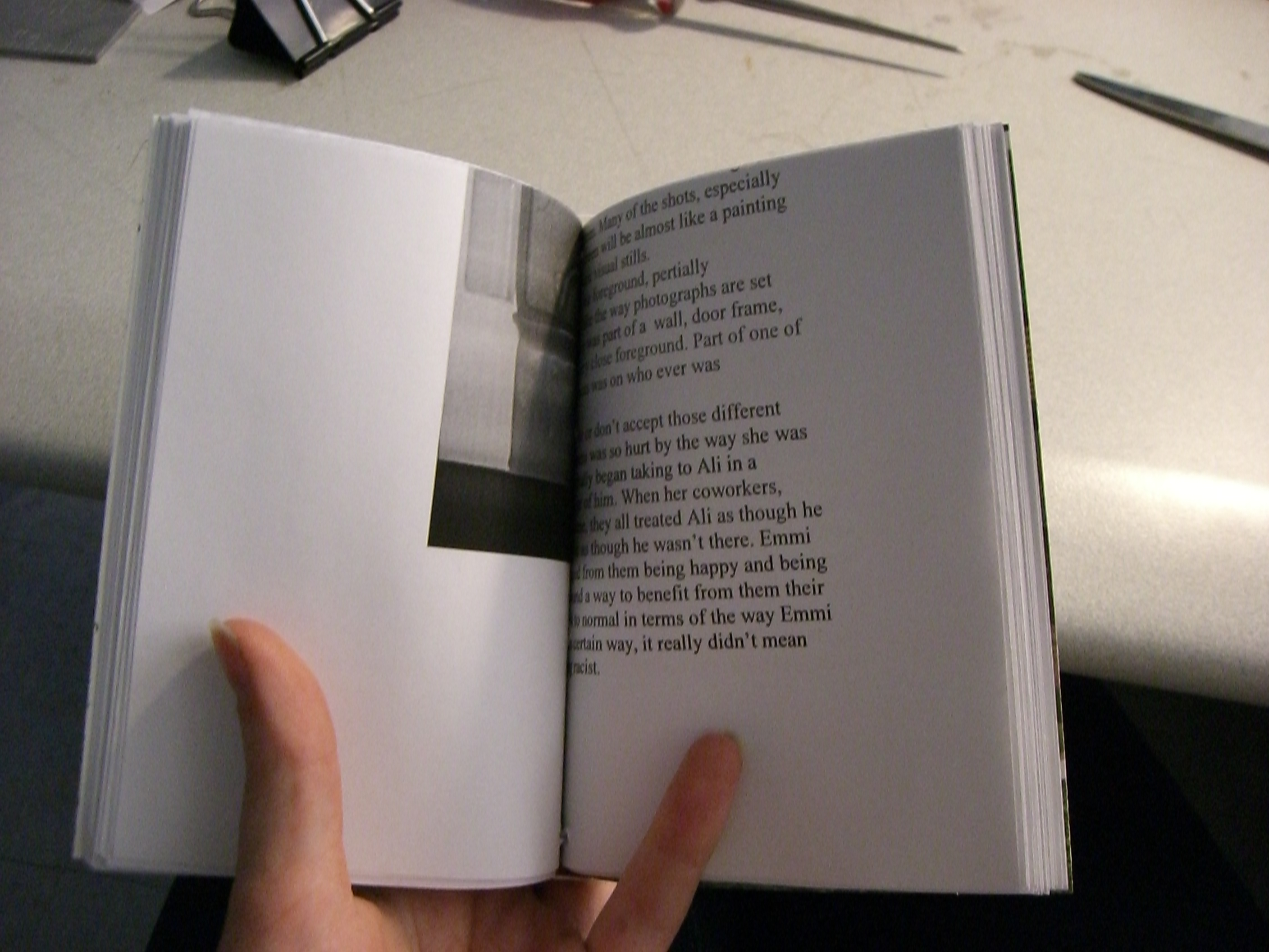 How to recycle office paper into blank books