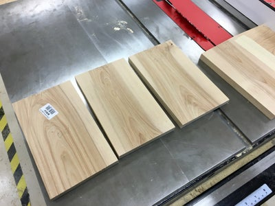 Cut Four Boards for the Sides