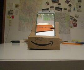 Cardboard Smartphone Camera Stabilizer