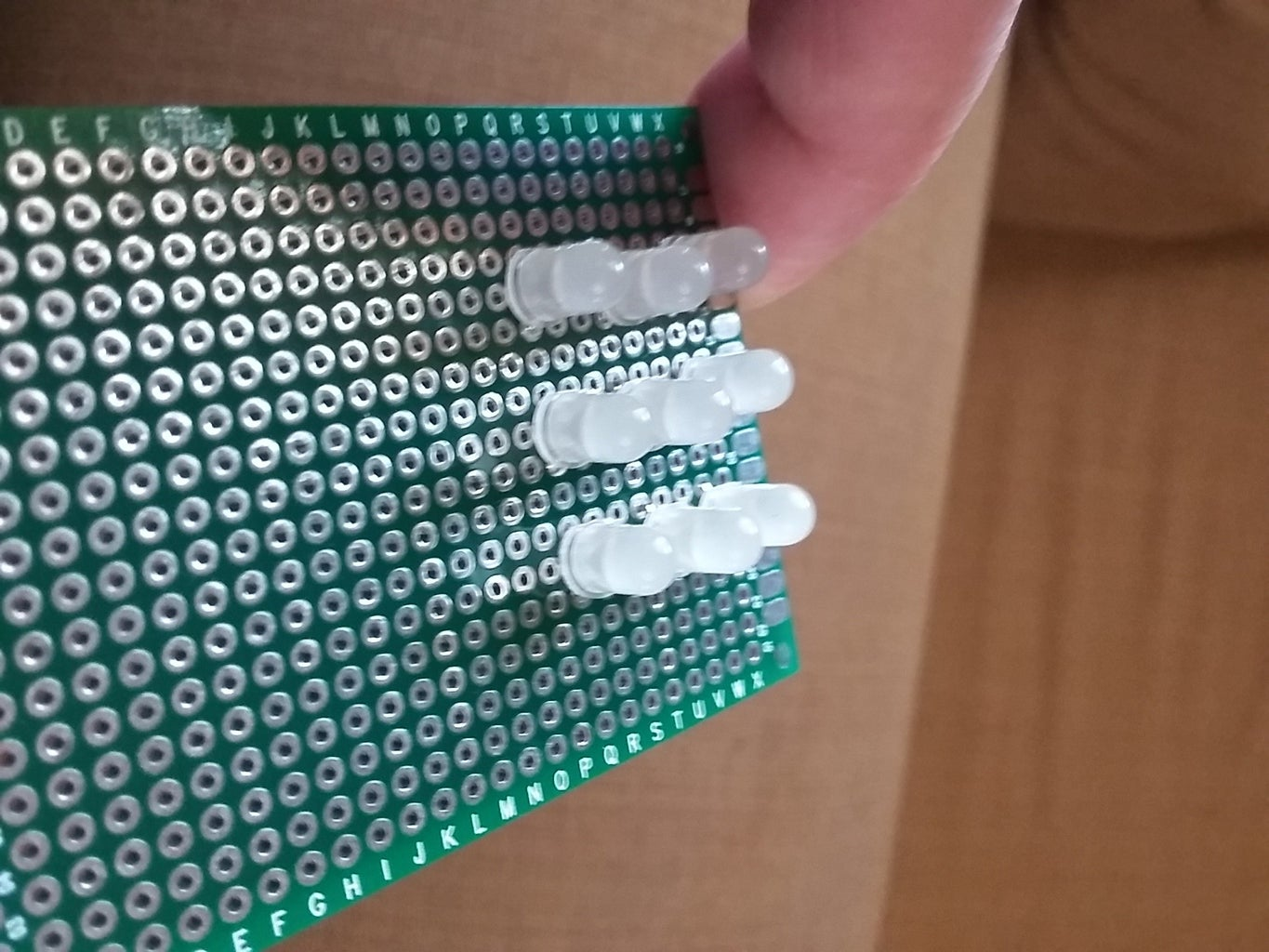 Install the LEDs