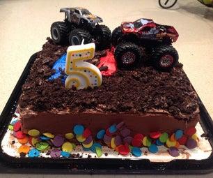 Monster Truck Cake Shortcut
