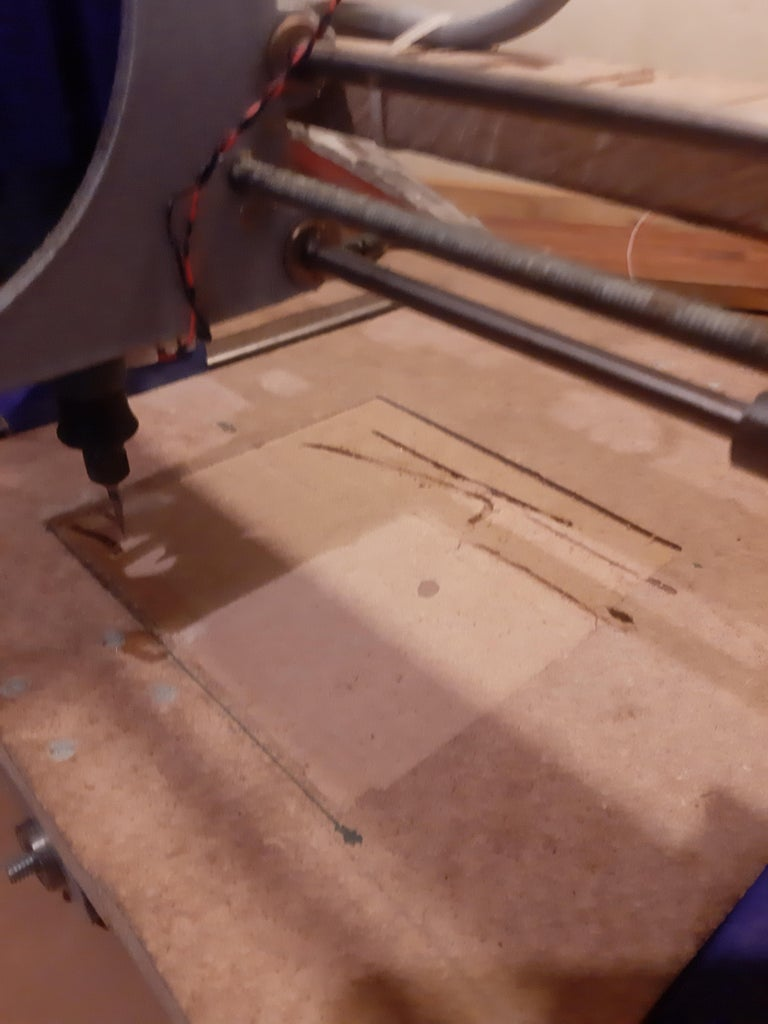 Step 9 : Milling the Work Area