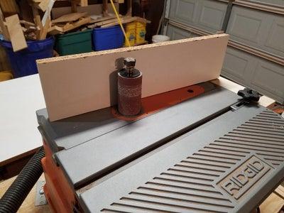 Rigid Oscillation Drum Sander Adjustable Fence