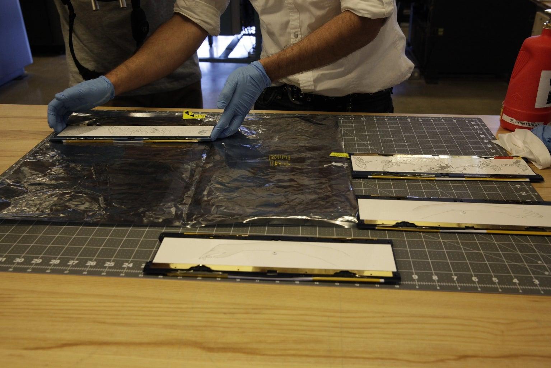 Laser Engrave Artwork on Aluminum Side Panels