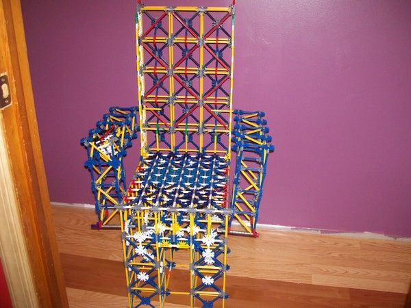 Mr. Muggles K'nex Chair Mods