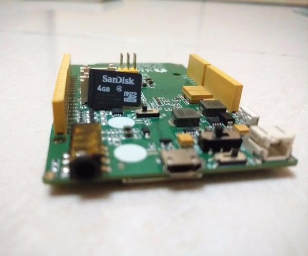 SD Card Data Logger With LinkitOne