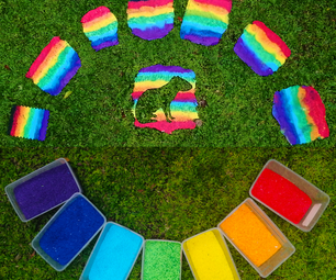 Plastic to Pride Flag (Easy Upcycling)