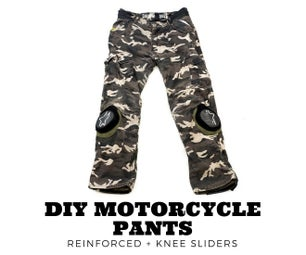 DIY Armored Motorcycle Pants Upgrade