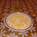 Pasta panna e salmone Pasta with cream and salmon in 6 minutes
