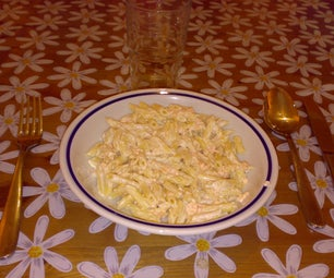 Pasta Panna E Salmone Pasta With Cream and Salmon in 6 Minutes