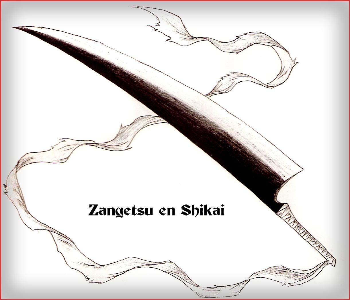 Zangetsu - Shikai Version