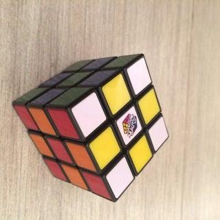 Rubix Cube Checkered Pattern