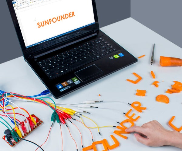 How to Make a Carrot Keyboard With Multi-Control