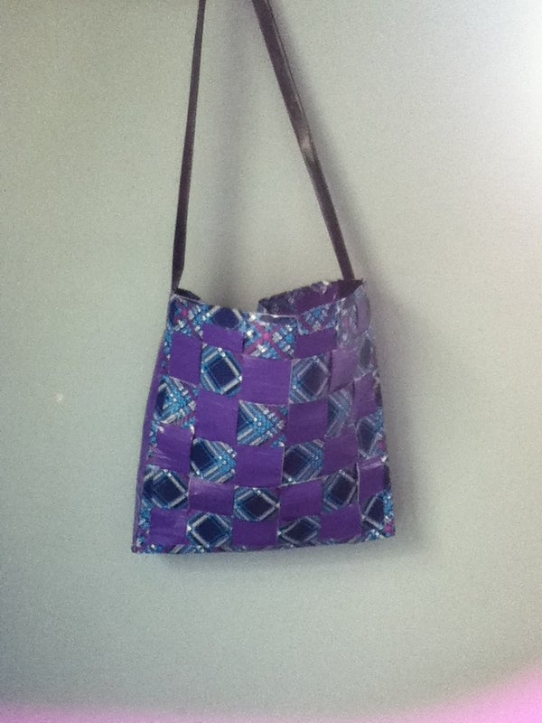 Woven Duct Tape Bag