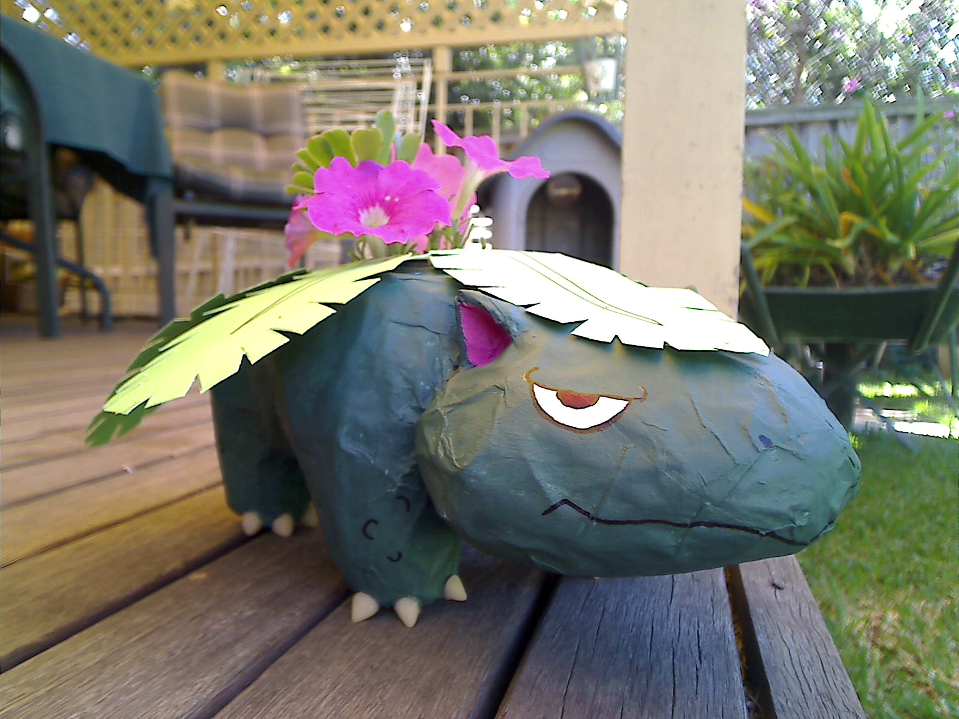Make a Venusaur Planter Pot!
