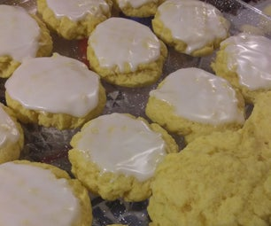 Julie's Soft Lemon Cookies