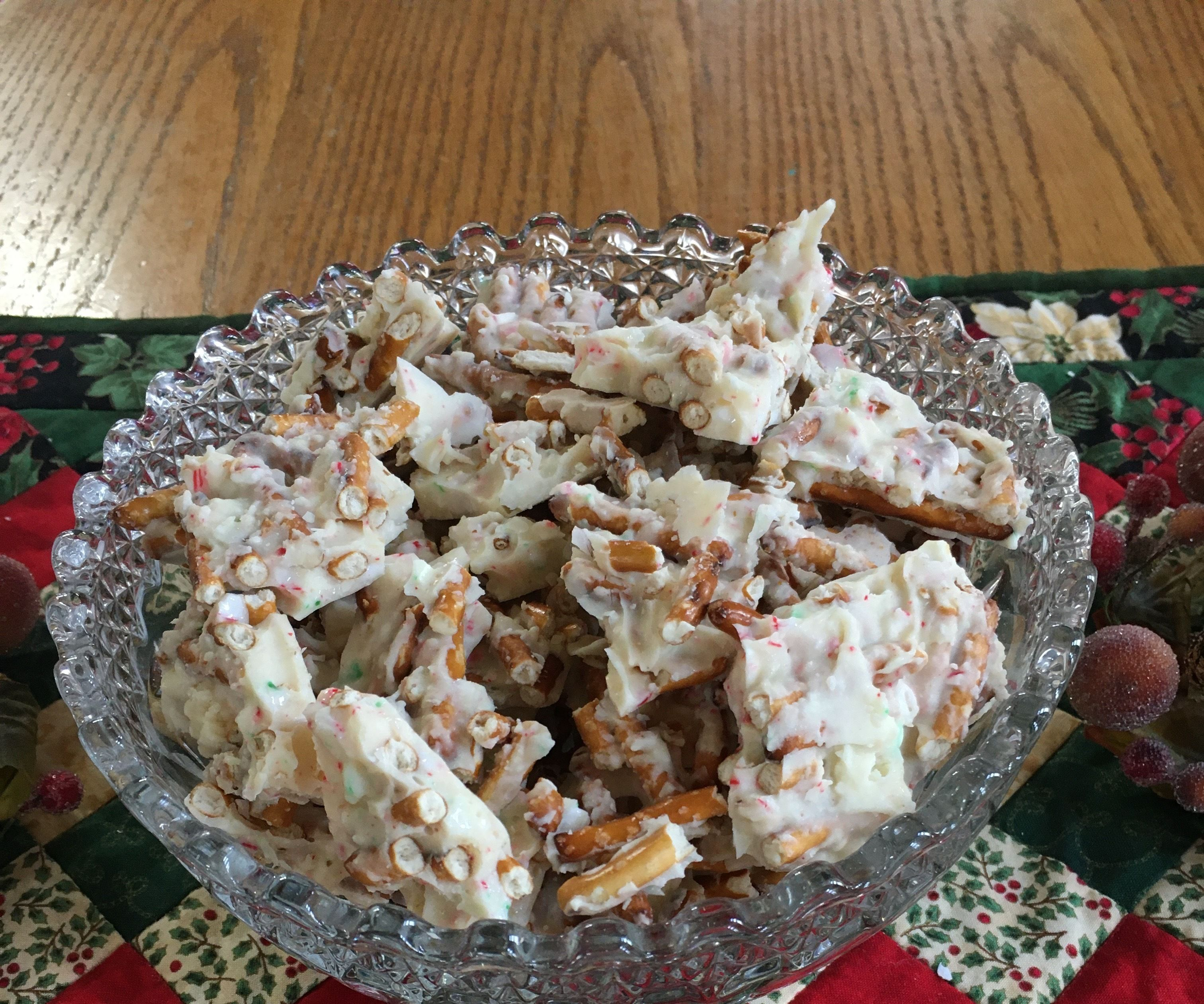 Sweet and Salty Christmas Treat