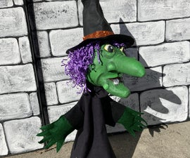 Gourd Witch Hand Puppet