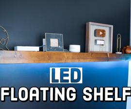 LED Floating Shelf - DIY
