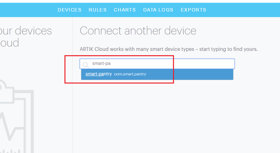 Getting Device ID and Token From Artik Cloud