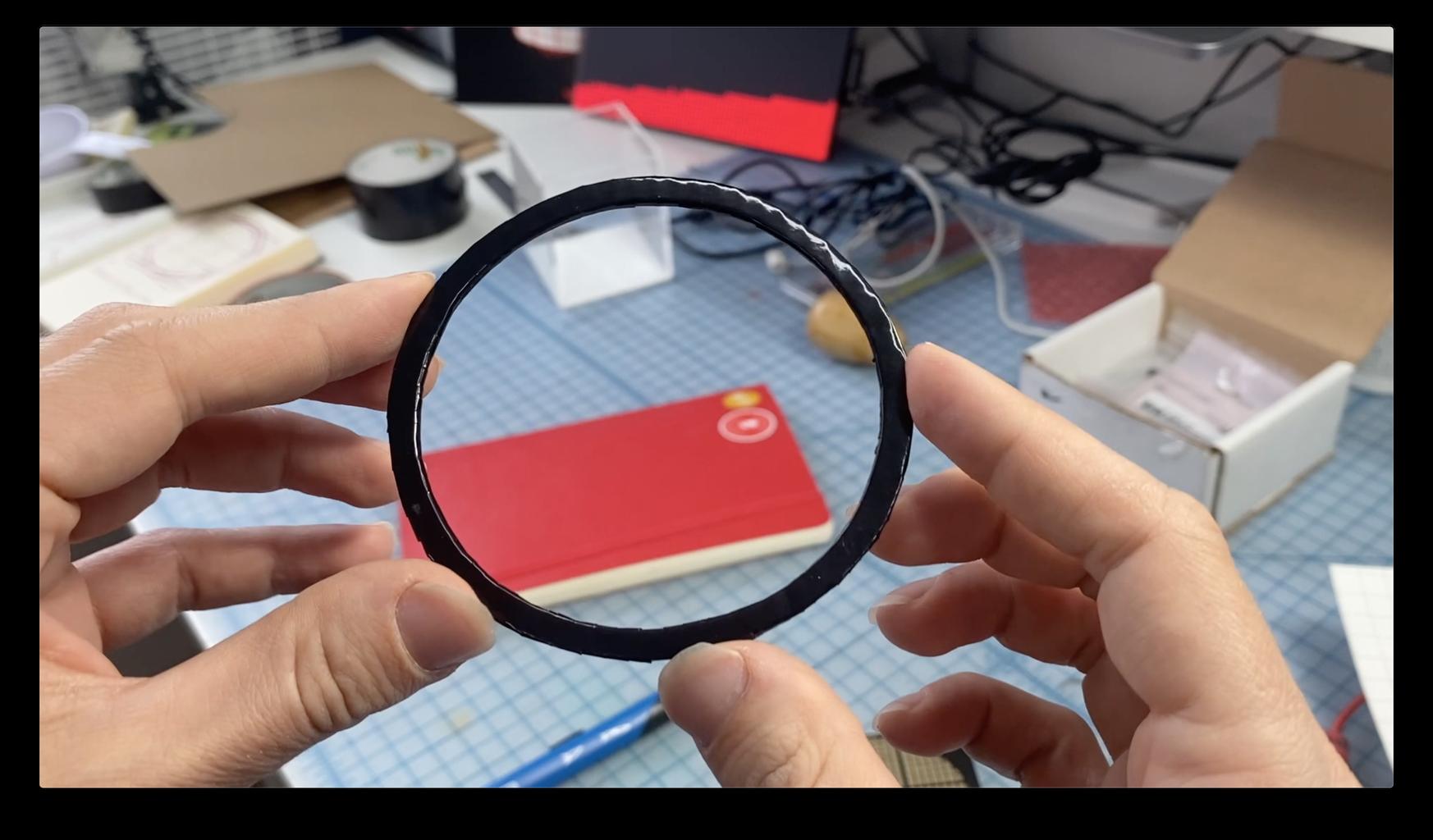 Add Vinyl to Make It Look Like Plastic