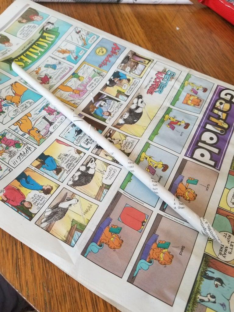 Roll Up Newspaper