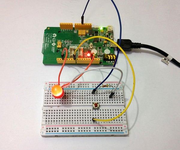 Morse Code Encoder/Decoder Using LinkIt One