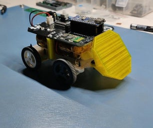 Micro Fighter BOT With Bluetooth