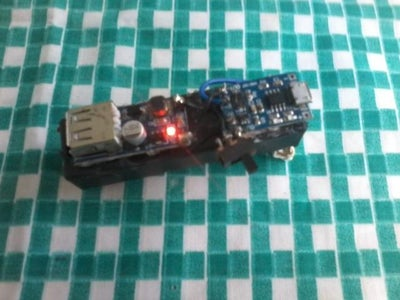 How to Make a Very Cheap 4500 MAh Power Bank