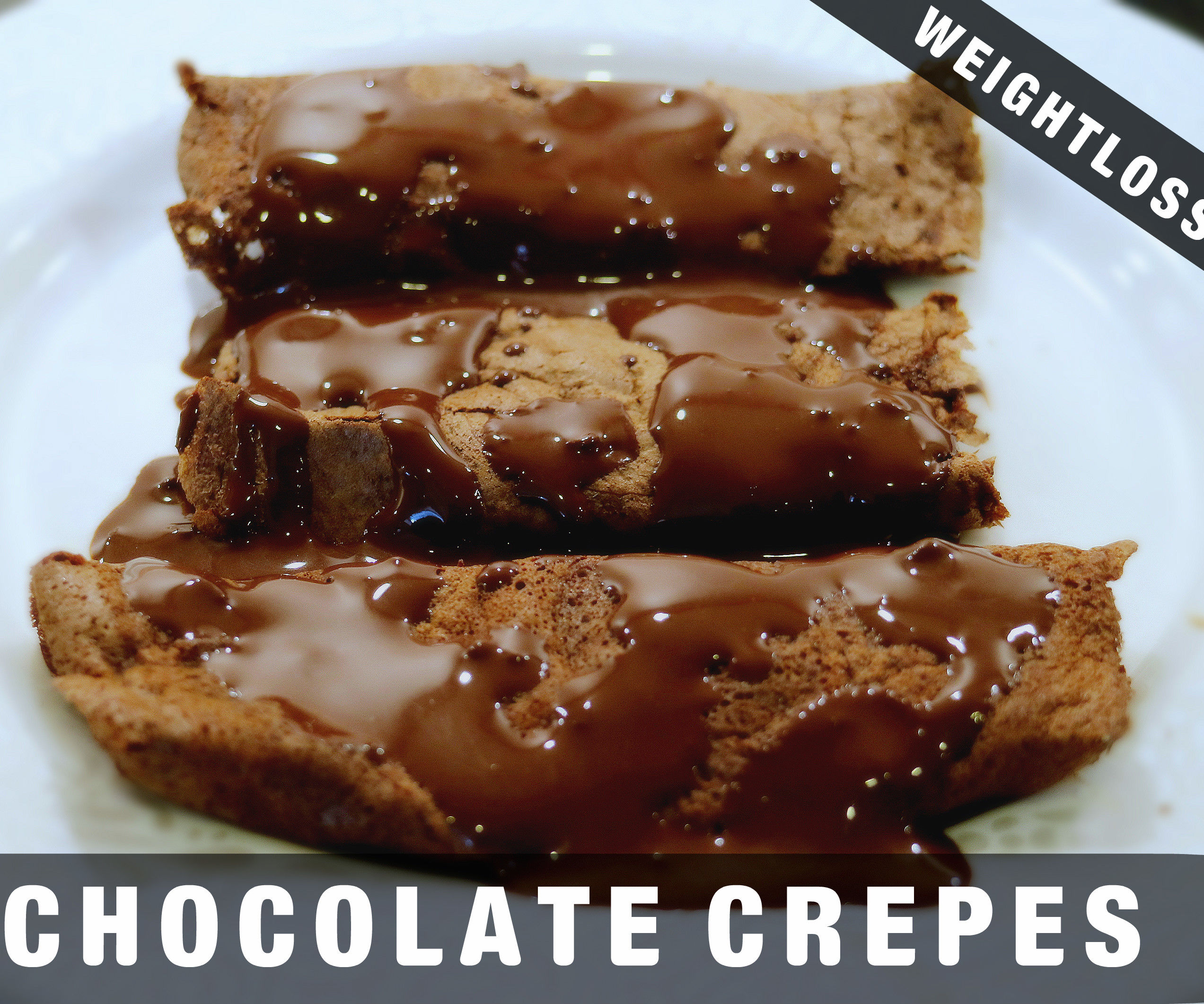 HEALTHY DARK CHOCOLATE CREPES