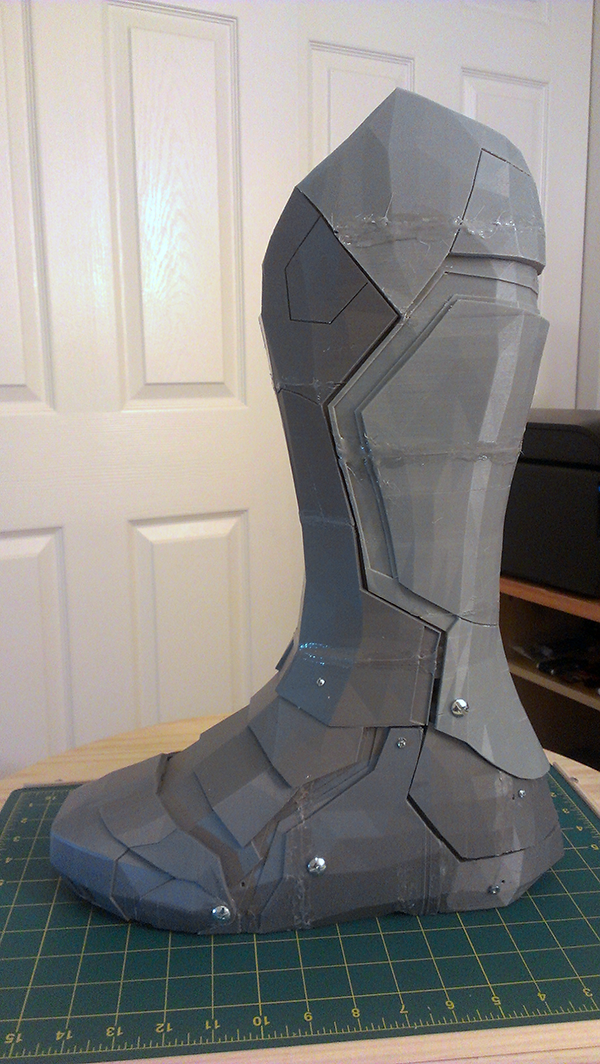 3D Print a Functional Armored Boot!