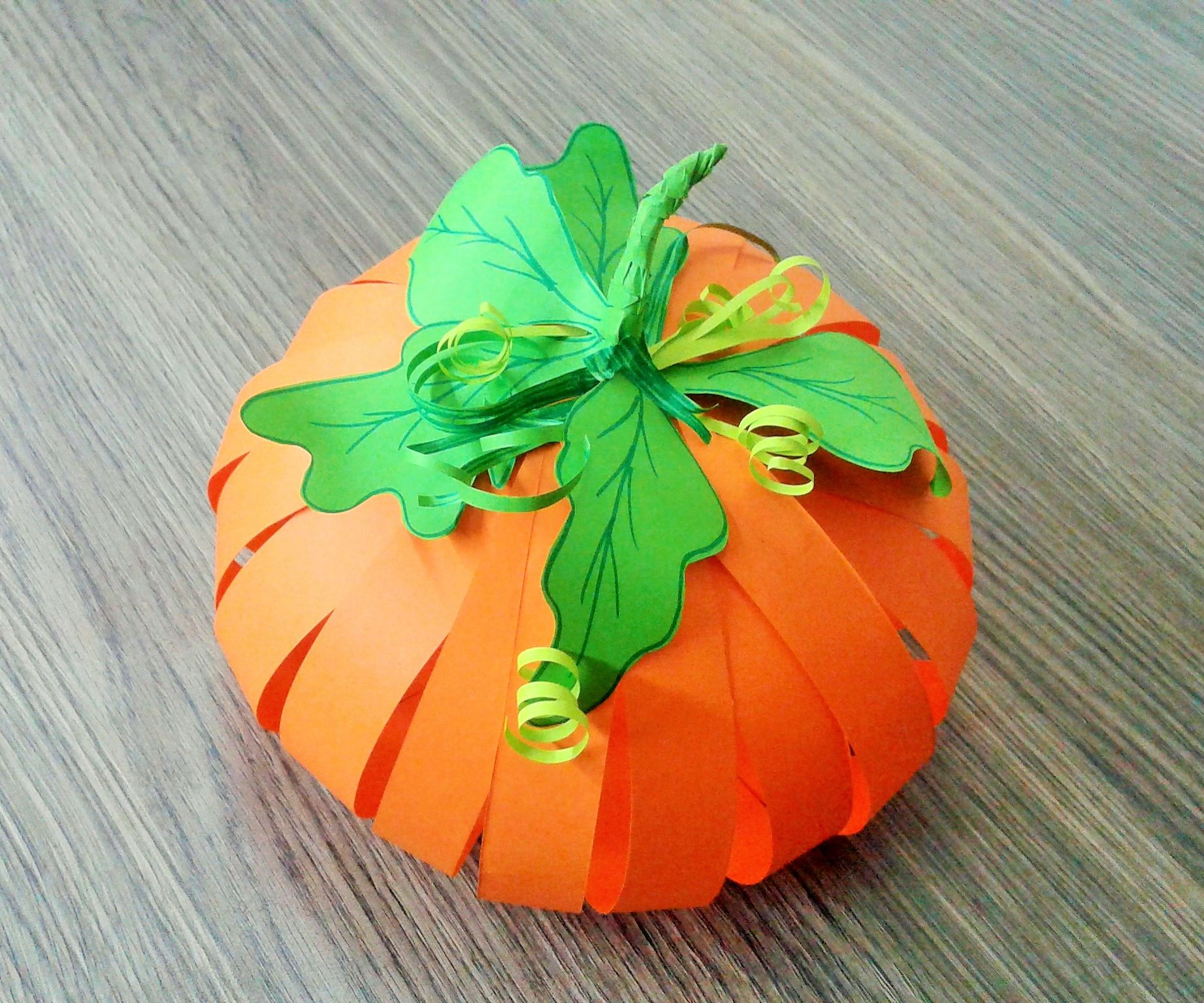 How to Make Paper Pumpkin
