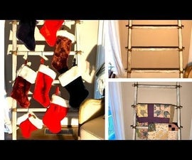 Rustic Blanket Ladder for Under #10.00