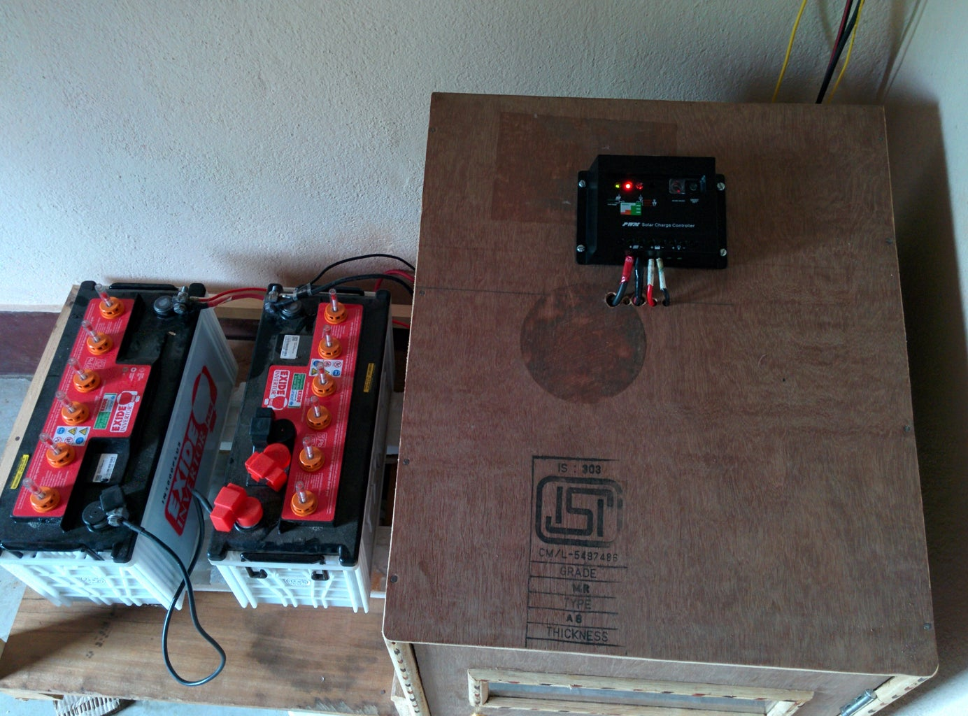 INVERTER AND BATTERY STAND