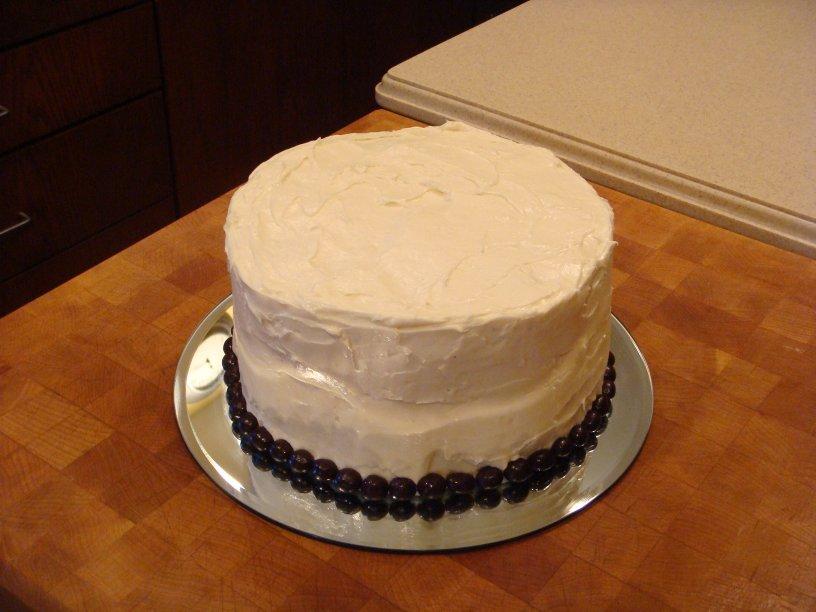 No Bake Muffin Cake