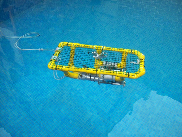 ROV Submersible (PVC)