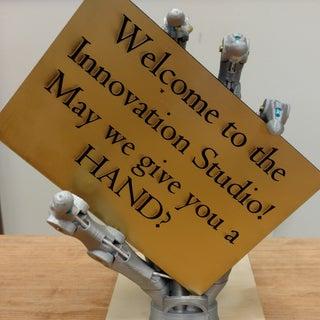 3D Printed Bionic Hand Skeleton