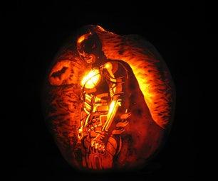 The Dark Knight Pumpkin